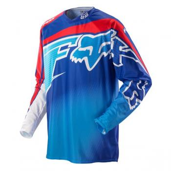 FOX 360° Flight Jersey blau