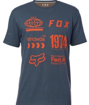 FOX Worldwide Airline Shirt darkblue